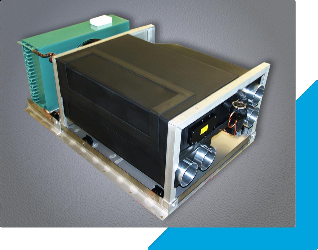 Klimagerät für Container der Bundeswehr