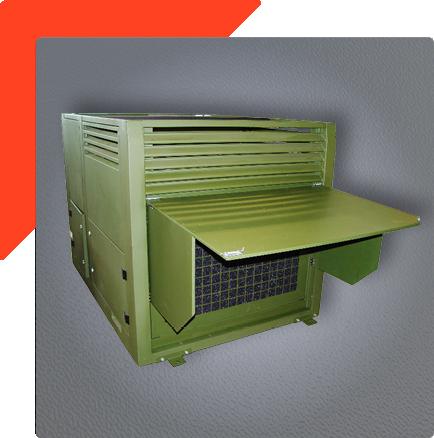 Lüftungsbereich 20kW Klimaanlage für Truppen