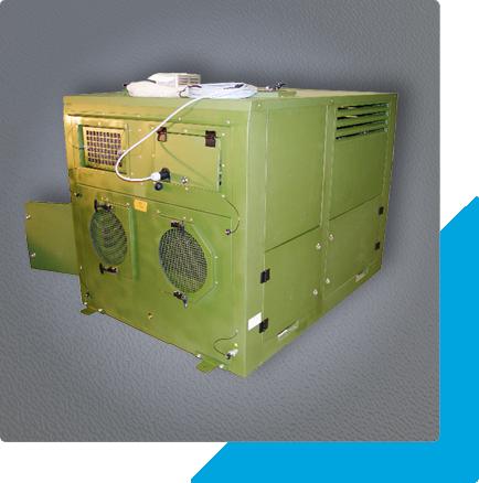 Leistungsstarke Klimaanlage für mobilen Einsatz