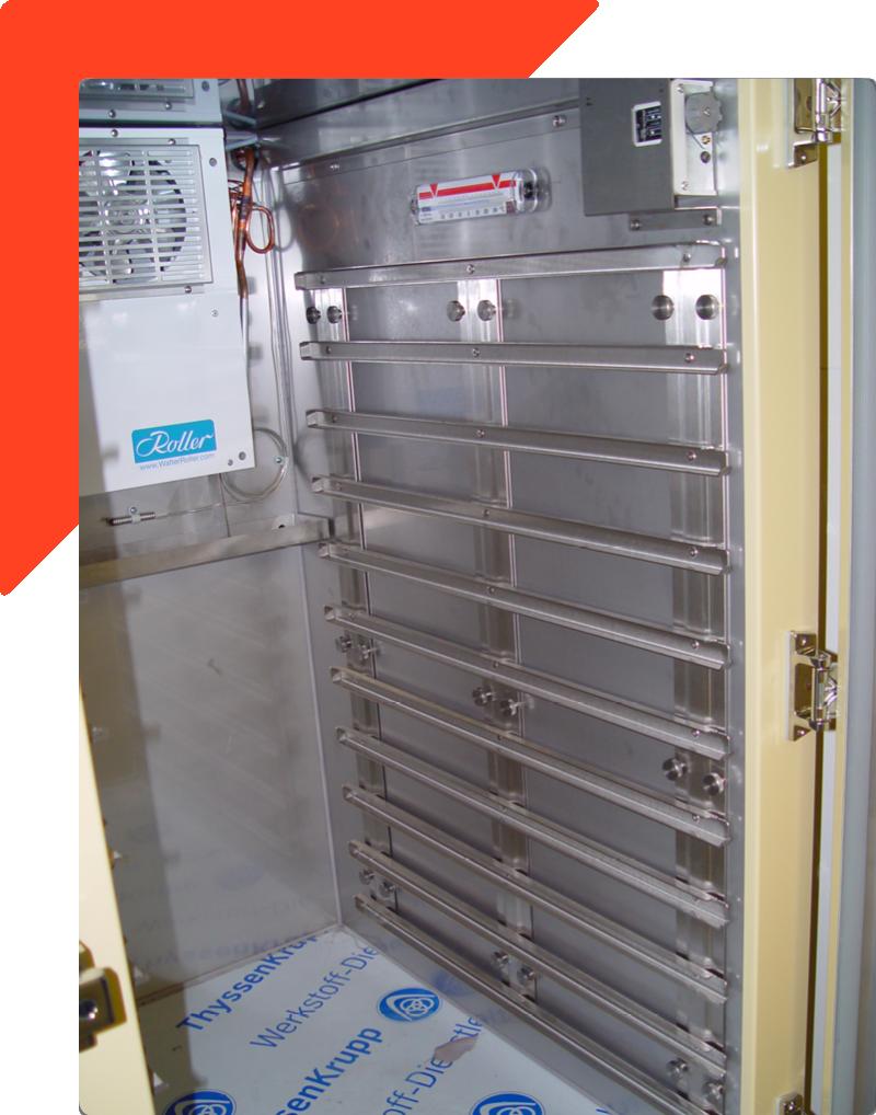 Gastronorm Kühlschrank für Truppenverpflegung