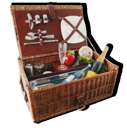 Roadluxe_Cottage_Style_Vintage_Picknick_Korb_Kühlfach_5,5_Liter