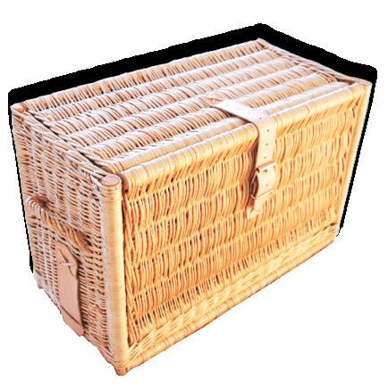 Roadluxe_Champagne_Gekühlter-Picknickkorb_4_Personen_Geschlossen